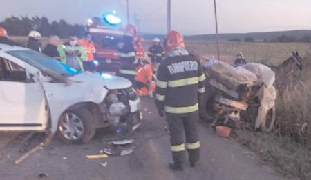 Pe DJ 720 A-Bucșani, accident mortal