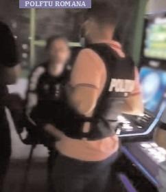 Razie a polițiștilor din Găești