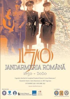 """12 octombrie, deschiderea Expoziției """"Jandarmeria Română 1850-2020"""" la Muzeul de Istorie din Târgoviște"""