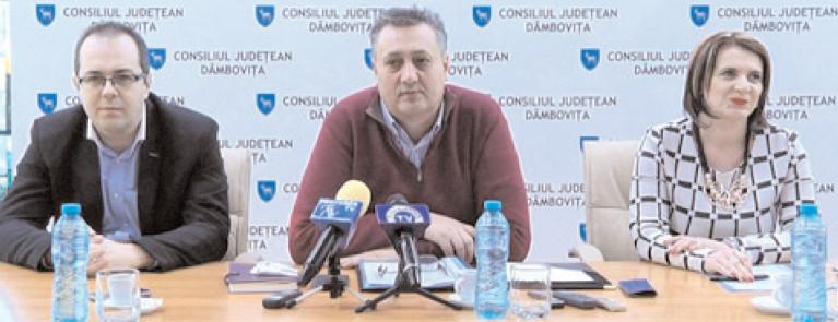 Ministrul Dezvoltării, vicepremierul Sevil Shhaideh şi secretarul de stat Adrian Gâdea vin în judeţul Dâmboviţa
