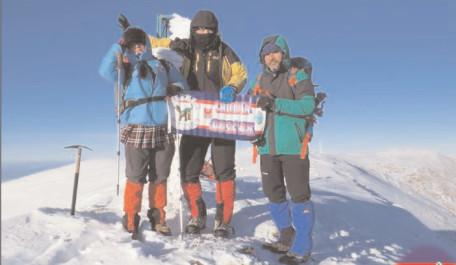 TOP 100 a continuat cu o nouă ascensiune – vârful Omu din masivul Bucegi