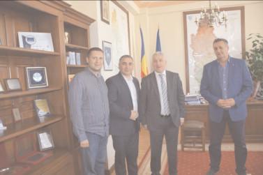 CJ Dâmboviţa este gazda unei delegaţii din Raionul laloveni, Republica Moldova