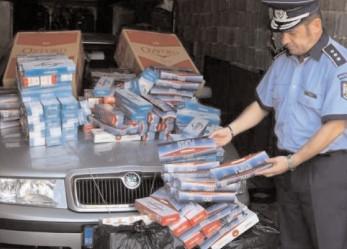 Acţiuni pe linie de contrabandă