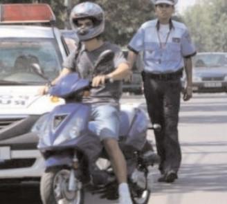 Mopediştii sunt în vizorul poliţiştilor