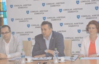 CJ Dâmboviţa a aprobat actualizarea Maşter Planului sectorul apă şi apă uzată în judeţul Dâmboviţa