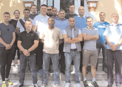 Jandarmii din străinătate în vizită la Jandarmeria Dâmboviţa