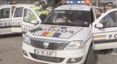 Neacordarea priorităţii de trecere, sancţionată de poliţişti