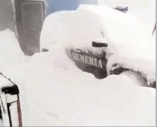 Furia iernii face prăpăd în zona montană dâmboviţeană Moroeni-Padina-Peştera