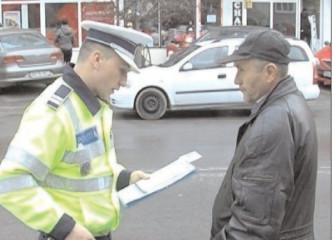 Pietonii în vizorul poliţiştilor
