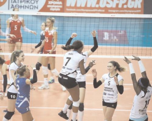 CE VICTORIE URIAŞA! Olympiakos Pireu – CSM Târgovişte 2-3 (18-25,25-27,25-16,25-16,13-15)