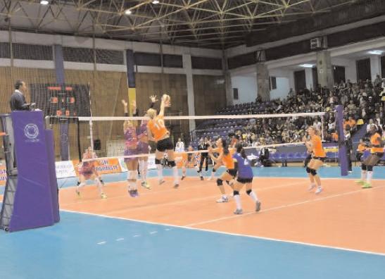 CSM TÂRGOVIŞTE -OLYMPIAKOS PIREU Astăzi, ora 18.00, Sala Sporturilor din Târgovişte. Intrarea este liberă