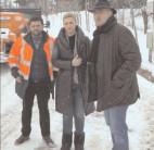 Conducerea CJ Dâmboviţa, la pas  prin localităţile dâmboviţene pentru a verifica  lucrările de deszăpezire