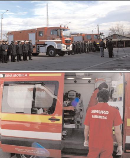 Exerciţiu pentru testarea planului de urgenţă externă în localitatea Doiceşti