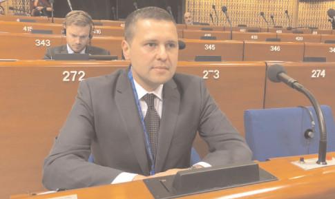 Deputatul PSD Dâmboviţa, Corneliu Ştefan, la cea de-a doua parte a Sesiunii ordinare 2018 a Adunării Parlamentare a Consiliului Europei