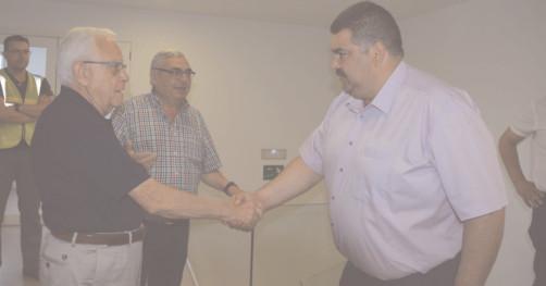 Preşedintele CJ, Daniel Comănescu a vizitat platforma industrială de reciclare a deşeurilor menajere şi industriale din Algimia de Alfara