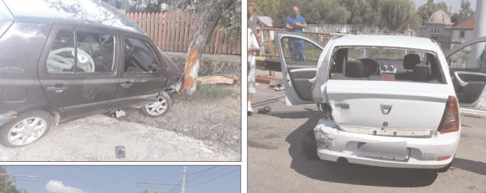 Neatenţia şi inconştienta la volan, sancţionate cu amenzi şi în unele situaţii chiar dosare penale