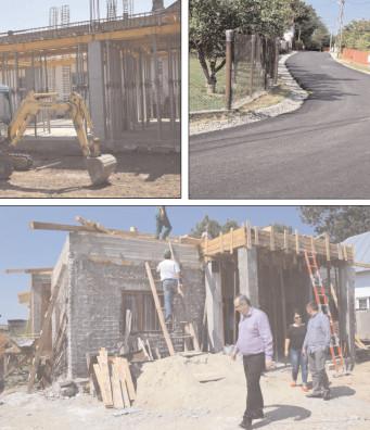 Investiţiile din localităţile Văcăreşti, Perşinari, Gura Şuţii, Produleşti, Braniştea şi Sălcioara, inspectate de CJ Dâmboviţa