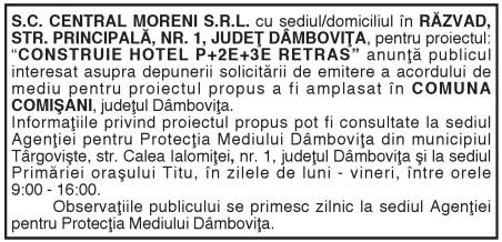 S.C. CENTRAL MORENI S.R.L.