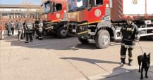 """Exerciţiu – """"SEISM 2018"""" Pompierii dâmboviţeni trimişi în sprijin, în capitala afectată de cutremur"""