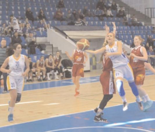 SUCCES MARE LA BRAŞOV CSTBv Olimpia CSU Braşov – CS Municipal Târgovişte 72 – 91 (25 – 29,17 -19,15 -14,15 – 29)