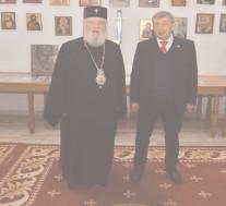 MITROPOLITUL NIFON A PRIMIT VIZITA AMBASADORULUI FEDERAŢIEI RUSE ÎN ROMÂNIA