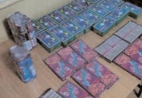 Mii de petarde confiscate de jandarmii dâmboviţeni