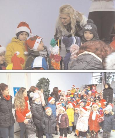 Colindătorii au adus vestea Naşterii Domnului şi Noului An la CJ Dâmboviţa