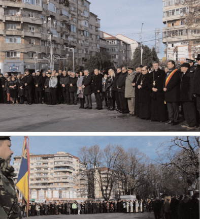 La Târgovişte, ceremonial militar şi religios de comemorare şi cinstire a eroilor Revoluţiei