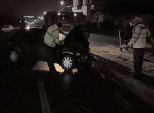 Accidente în lanţ pe drumurile din Dâmboviţa, în seara de Bobotează