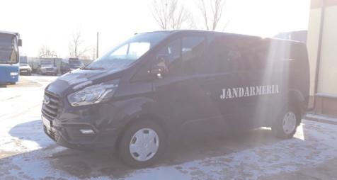 Jandarmeria Dâmboviţa a primit maşini noi de intervenţie