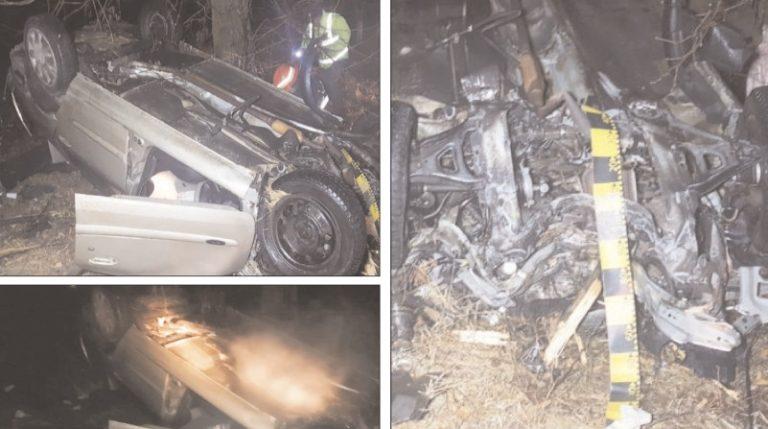 Un şofer băut a rupt un stâlp şi a distrus un gard al unei locuinţe