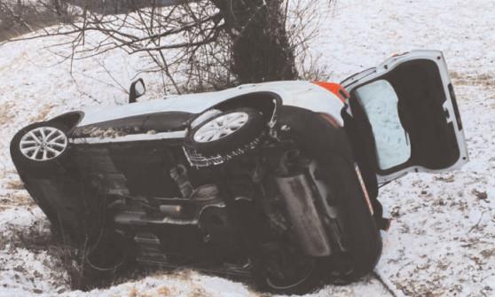 Din cauza unei erori de GPS, trei tineri au fost la un pas de moarte