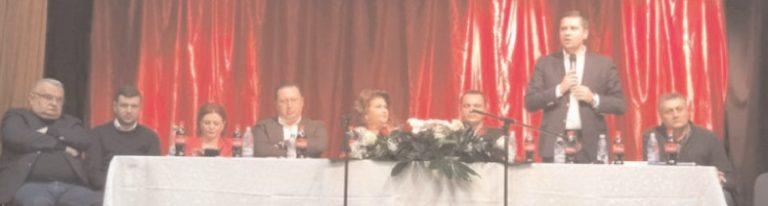 Ministrul Rovana Plumb, preşedinte interimar PSD Dâmboviţa, la întâlnire cu activul de partid, primari, viceprimari, consilieri locali din zona Pucioasa-Fieni