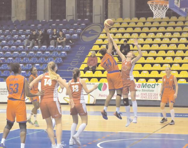 VICTORIE PENTRU LOCUL 3 CS Municipal Târgovişte – CSTBv Olimpia Braşov 69-61 (21-16, 14-22, 19-11, 15-12)