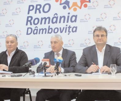 Pro România va solicita reducerea subvenţiilor pentru partidele parlamentare