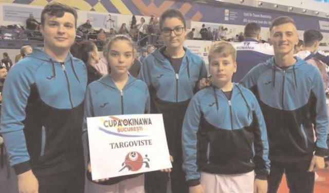 Rezultate de top pentru karateka de la CS Târgovişte!