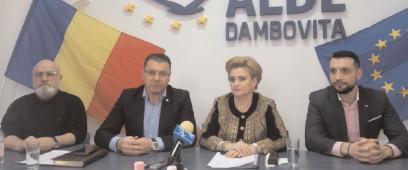 Viceprim-ministrul Graţiela Gavrilescu, în vizită de lucru la Târgovişte