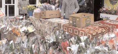 Flori şi mărţişoare, confiscate la Târgovişte