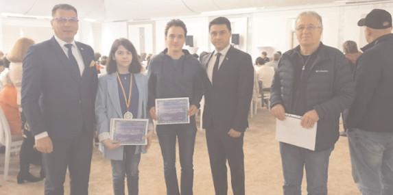 Festivitatea de premiere a Olimpiadei Naţionale de Fizică, ediţia 55, la Târgovişte