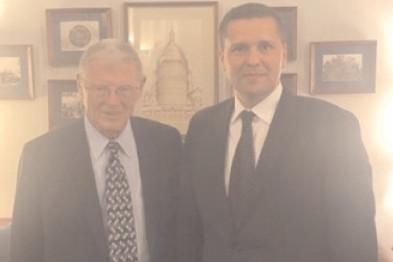 Deputatul PSD Dâmboviţa, Corneliu Ştefan la Adunarea Parlamentară a NATO de la Washington