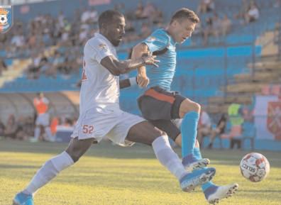 OUT DIN CUPA ROMÂNIEI Chindia Târgovişte – Hermannstadt 0-1 (0-0)