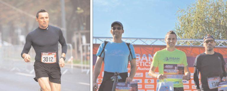 """Jandarmul lonuţ Timofte, locul I la """"Bucharest URBAN Athletics"""" – categoria de vârstă 35-49 de ani"""