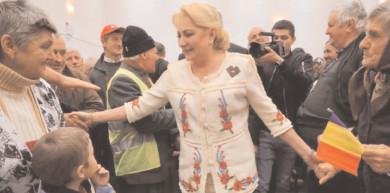 """Viorica Dăncilă: """"Oameni buni, aceasta nu este România lui lohannis, lui Orban, aceasta este România românilor"""""""