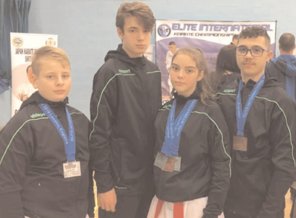 Karateka Clubului Sportiv Târgovişte, de patru ori pe podium la turneul internaţional Elite Open Championship