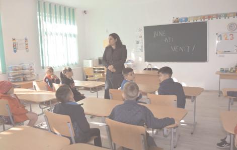A fost modernizată şi extinsă şcoala cu clasele I – IV Oborani, în comuna Vişina