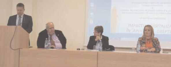 """Cea de-a IX-a ediţie a conferinţei """"Impactul digitalizării în aplicarea dreptului"""""""
