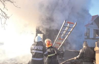 Incendiile la gospodării s-au înmulţit