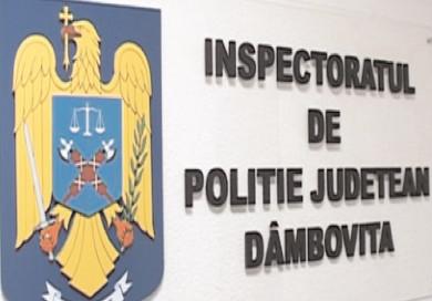 Siguranţa cetăţenilor – prioritatea Inspectoratului de Poliţie Judeţean Dâmboviţa