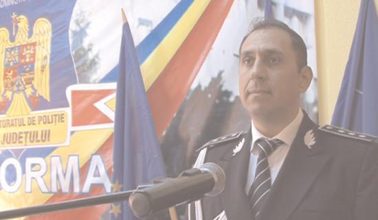 Comisar şef de poliţie Gheorghe Valentin Dumitraşcu, noul inspector şef al IPJ Dâmboviţa