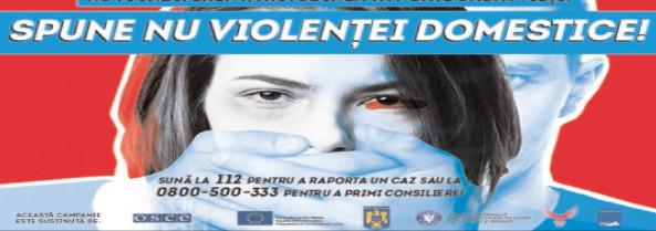 CAMPANIE INTERNAŢIONALĂ DE PREVENIRE A VIOLENŢEI BAZATE PE GEN